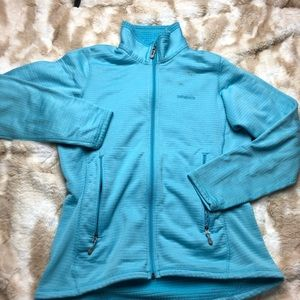 Patagonia Women Med Blue  Full Zip Jacket